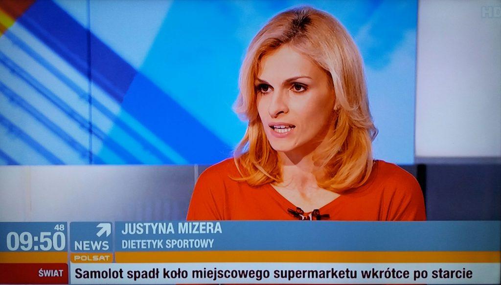 Dietetyk sportowy Justyna Mizera polsat