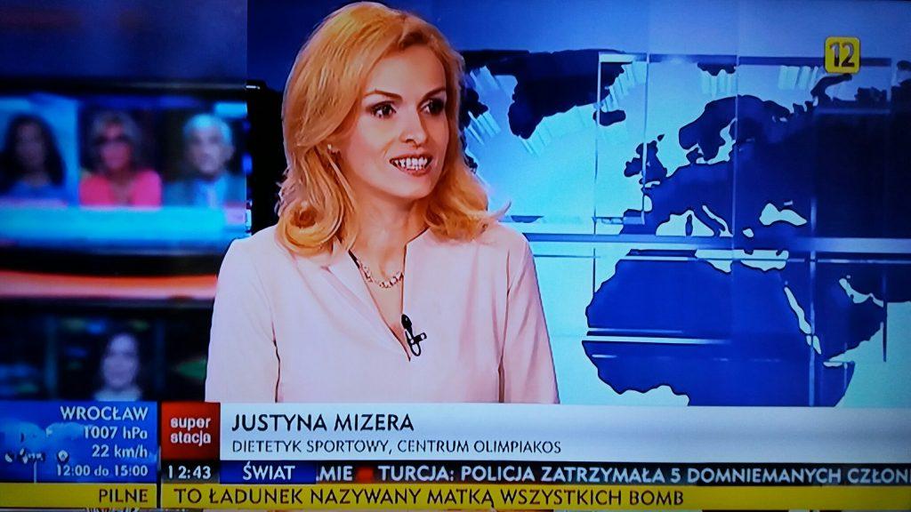 Dietetyk sportowy Justyna Mizera super stacja