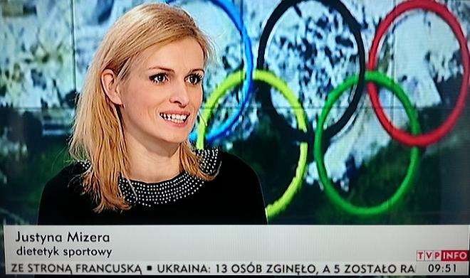 Dietetyk sportowy - Justyna Mizera