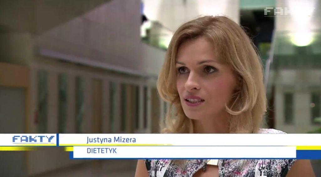 dietetyk sportowy Justyna Mizera